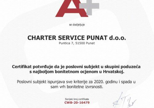 charter service punat